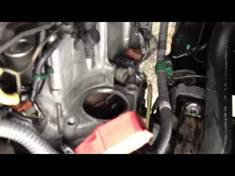 honda accord starter removal youtube