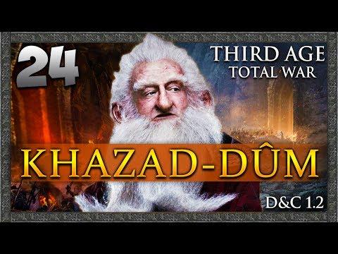 WRAITH HUNTER! Third Age Total War: Divide & Conquer - Khazad-dûm Campaign #24
