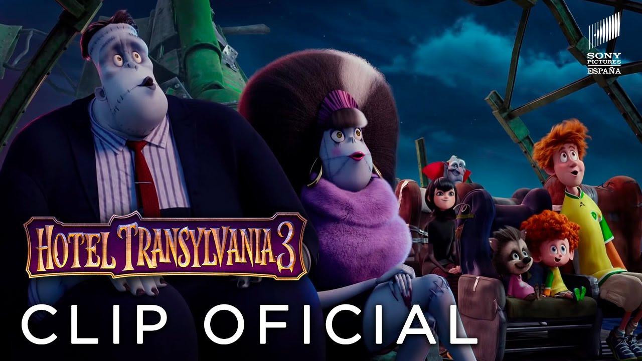 Hotel Transilvania 3 Unas Monstruosas Vacaciones Ya En Cines Youtube