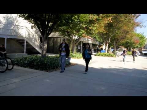 5 mins into San Jose State University SJSU 2011 (skate tour)