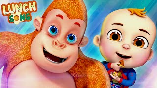 Lunch Song | Learn Sharing | Baby Ronnie Rhymes | Cartoon Animation Nursery Rhymes By Videogyan