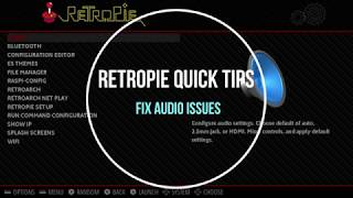 How to Fix Audio Issues In Retropie - RPi Quick Tips