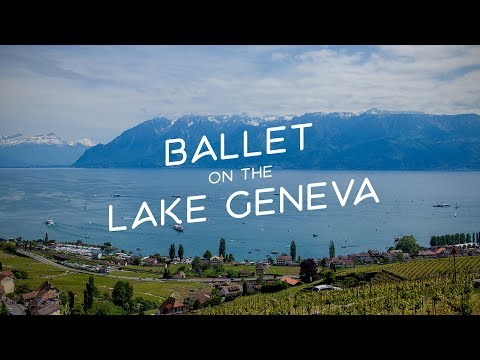 A SWISS ballet on the Lake Geneva | SWITZERLAND tourism | Steamboats timelapse