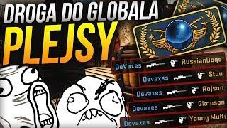 DROGA do GLOBALA, HEADSHOTY, RUSKI w MECZU! - PLEJSY w CSGO #1