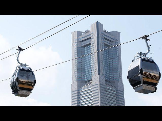 横浜に「国内初の都市型」ロープウェー 22日に開業