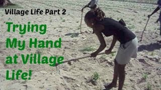 African American Visits Her In-Laws Namibian Village Part 2