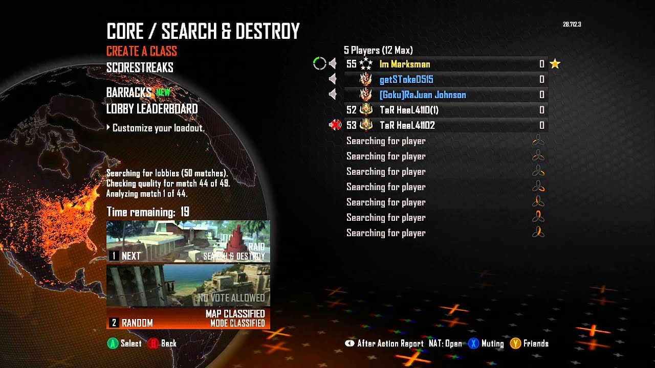 matchmaking black ops 2