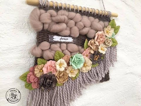 Prima DT CHA sneak peaks wild and free floral weaving