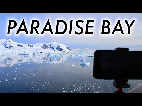 Neko Harbour to Paradise Bay (timelapse)