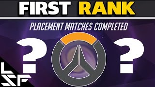 MY FIRST RANK - Overwatch Placement Match