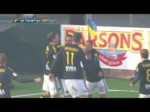 Höjdpunkter: Avdic hjälte när AIK slog Gais - TV4 Sport