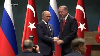 Անկարայում հանդիպել են Թուրքիայի և Ռուսաստանի նախագահները