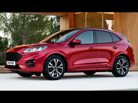 2020 Ford Kuga ST-line Plug In Hybrid – Design And Drive