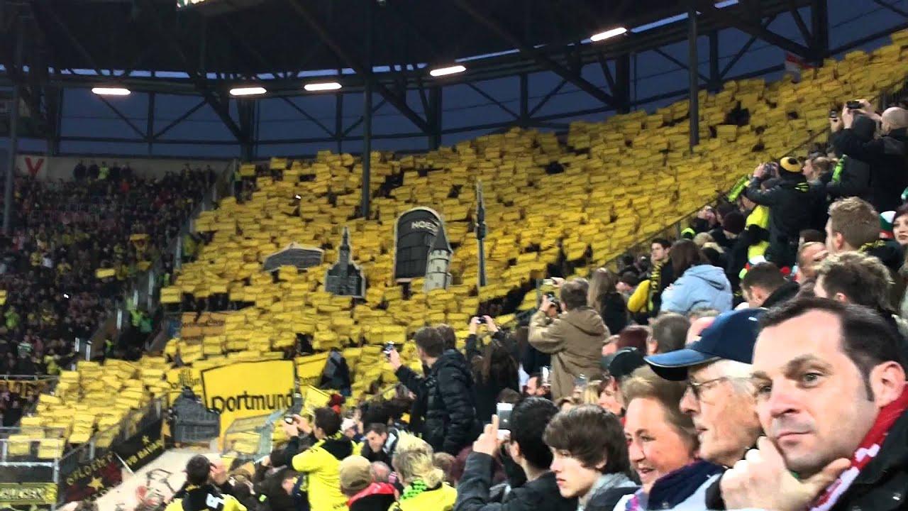 FC Augsburg - Borussia Dortmund  Choreo