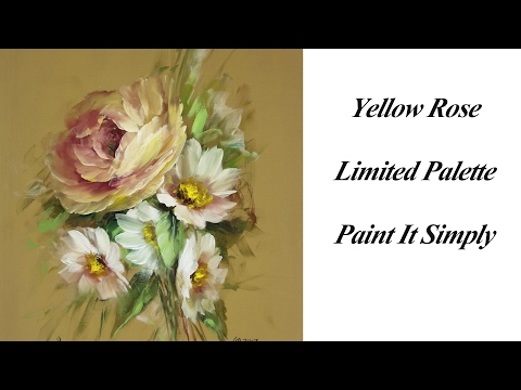 Yellow Rose  Limited Palette
