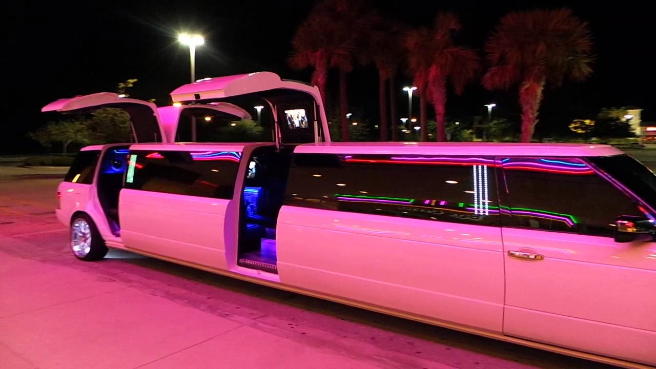 New Range Rover Limo 2 Clean Ride Limo Youtube