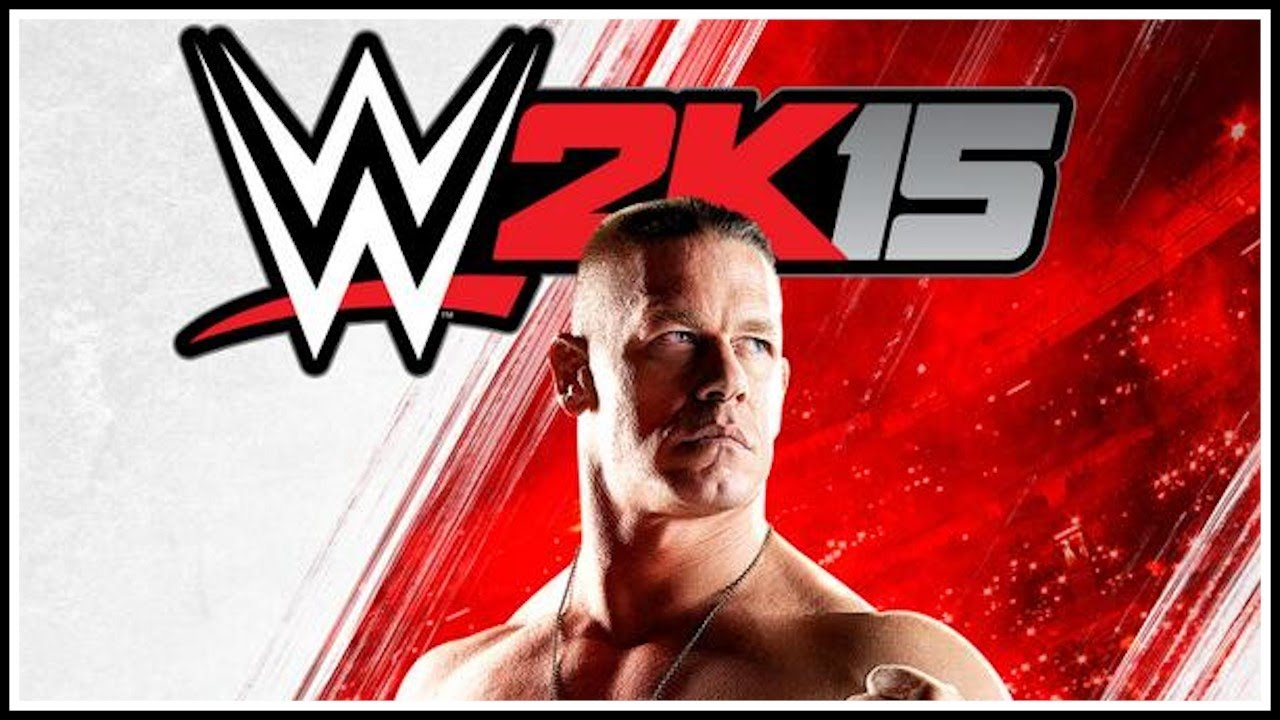 Wwe 2k15 Official Cover New Logo Youtube