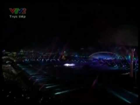 Zaneta Naomi - One day in your life @ Closing Ceremony Sea Games 2011