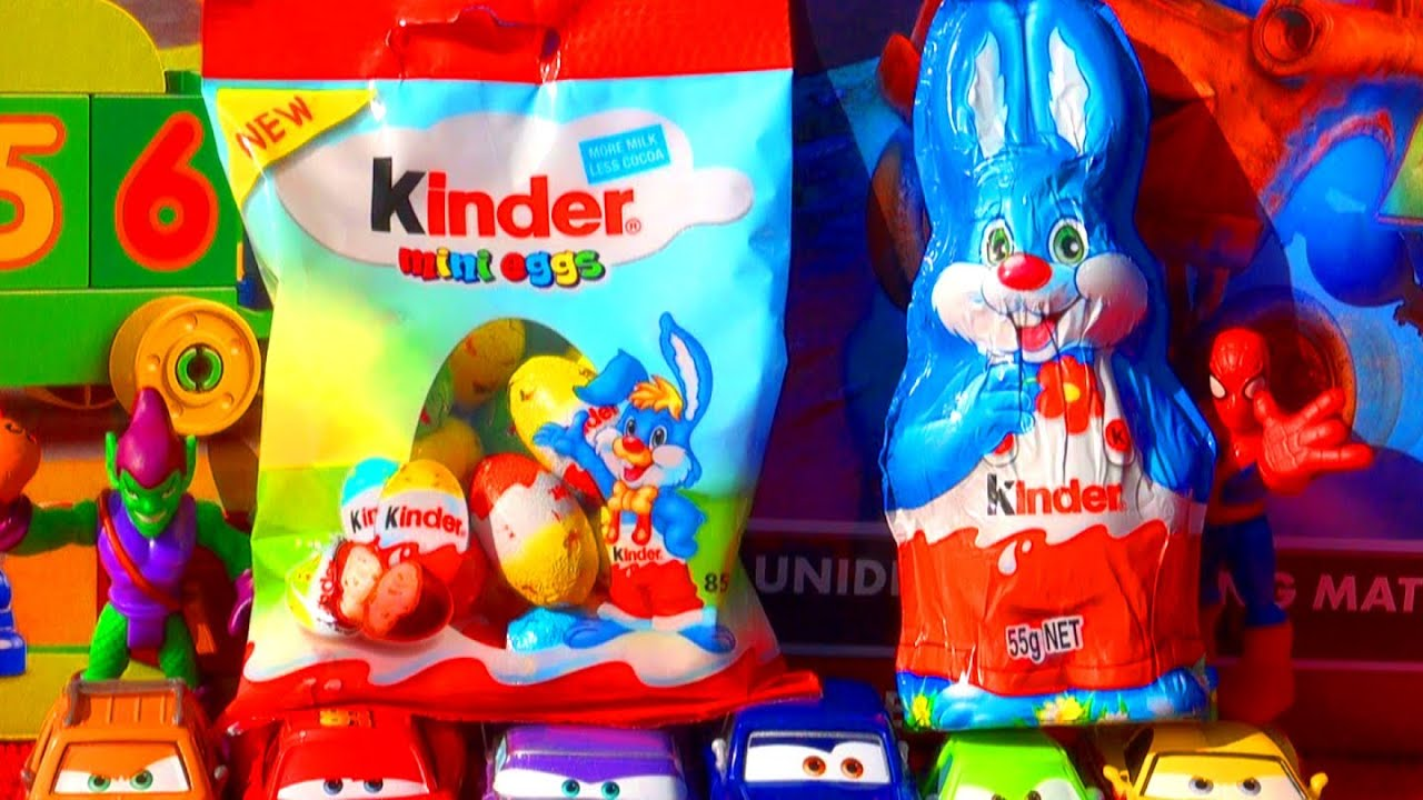 Kinder Egg Review Kinder Surprise Eggs Unboxing Mini Eggs Easter Bunny Psy