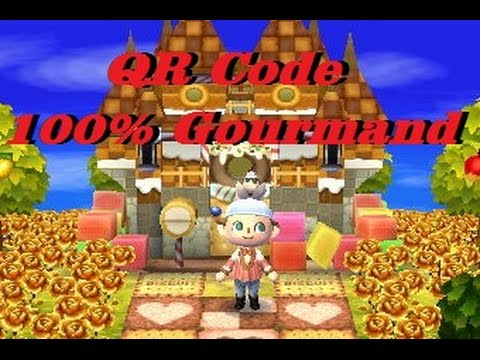 Animal crossing new leaf visite de ma ville qr code for As tu un animal a la maison