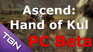 Ascend: Hand of Kul - PC Beta Character Creation + Levels 1-6