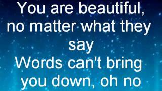 China Anne McClain Beautiful-Lyrics