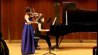 Gambar cover Mozart violin sonata K.305 for violin and piano A major