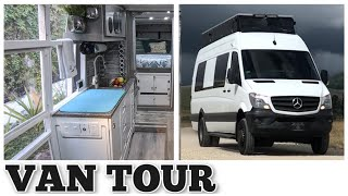 VAN TOUR - Tiny House with Amazing SHOWER!
