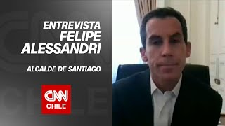 "Felipe Alessandri por paso de Santiago a Fase 3: ""Nos da una luz de esperanza para seguir avanzando"""