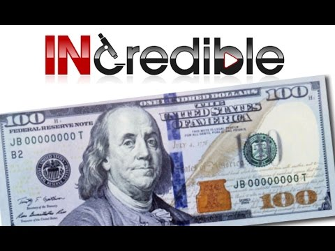 What's Inside a $100 Dollar Bill!? INcredible #2