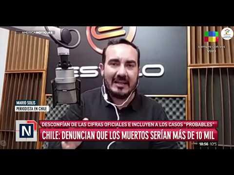 Chile: denuncian que los muertos serían más de 10 mil