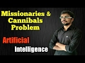 Missionaries and Cannibals Problem in hindi | Artificial Intelligence | #25