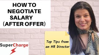 Salary Negotiation - 10  tips on how to negotiate a Higher Salary