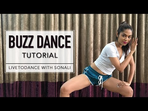 Buzz | Aastha Gill Ft. Badshah | Dance Tutorial | LiveToDance With Sonali
