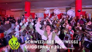 Schwiiz, die rot-wissi Guggeparty 2020 - Agfrässeni Laufen 1967