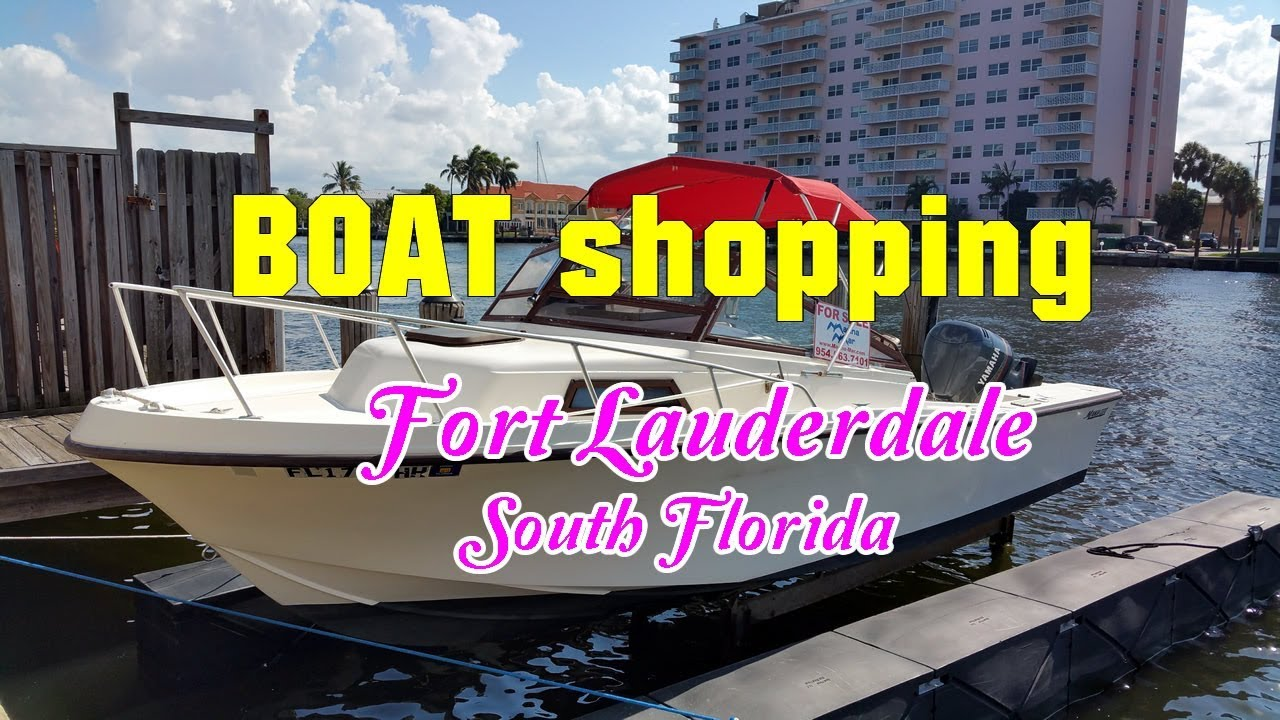 Boats For Sale Fort Lauderdale South Florida Youtube