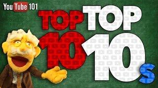 YouTube's Top 10 TOP-10s