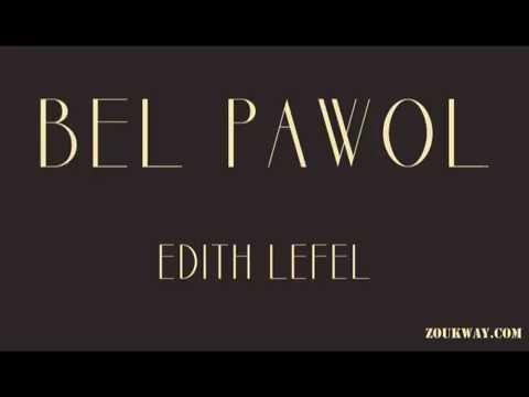 Edith LEFEL Bel pawol