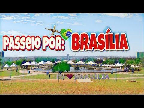Brasilia DF - Passeio pela capital do Brasil - #Turismo