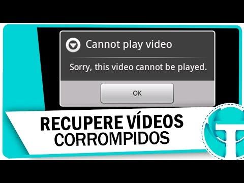 Como recuperar vídeos corrompidos/ Danificados ( WMV, ASF, MOV, MP4, M4V, 3G2, 3GP e F4V )