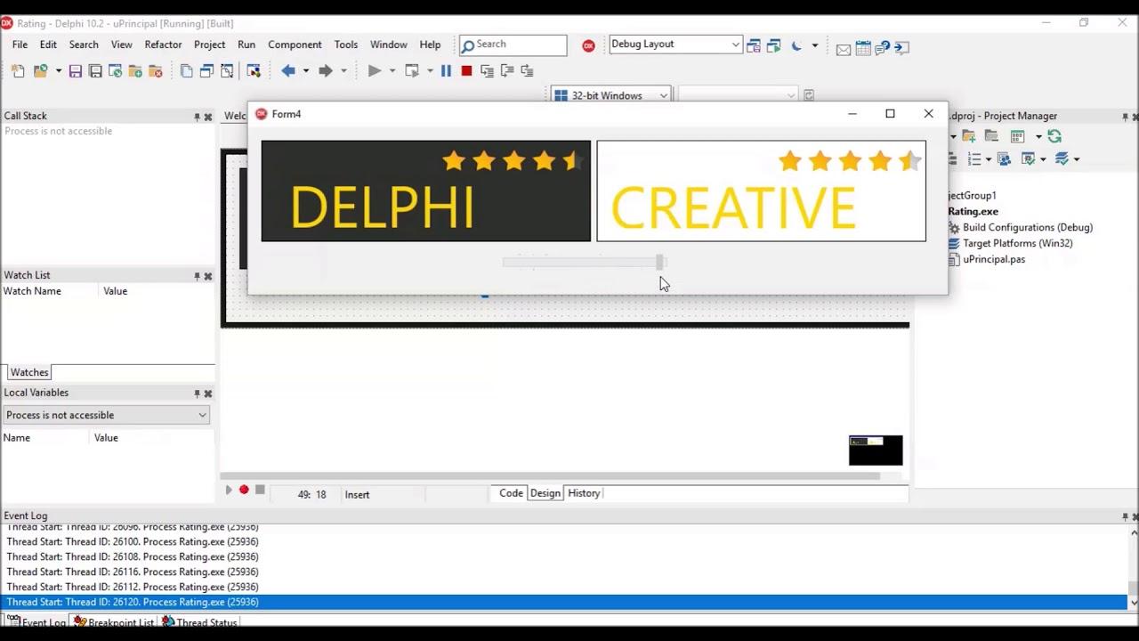 DELPHI IDEIAS#9 - Prévia do próximo vídeo - Que tal exibir uma  classificação?