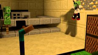 Fight in Minecraft TAVERN animation! By TheMinecraftNicolasha