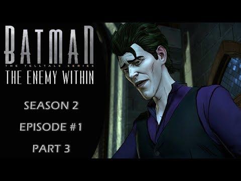 Batman: The Enemy Within (Telltale/Season 2) Episode 1: Gameplay Walkthrough Part 3
