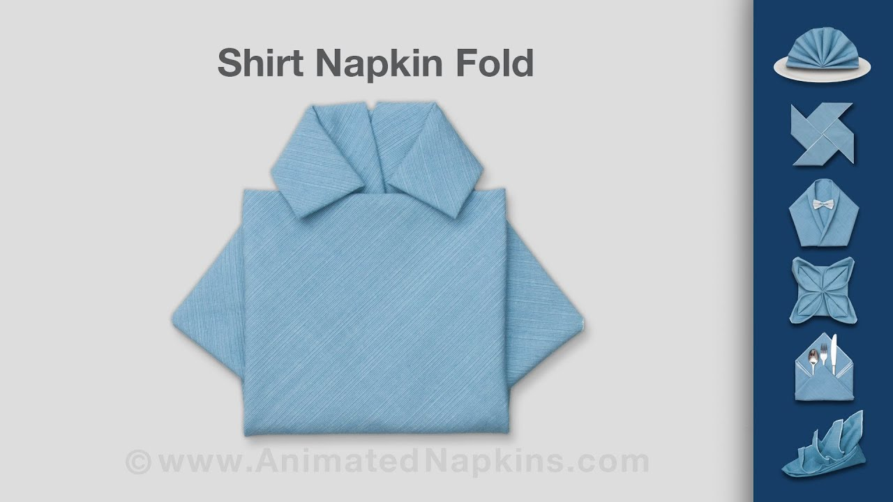how to fold work shirts