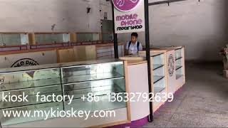 cell phone accessories repair kiosk in Westfield Australian