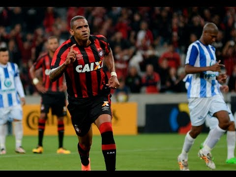 Atlético Paranaense x Dom Bosco (MT): Gol de Anderson Lopes