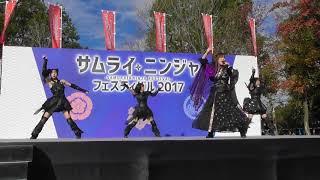 2017/11/12に行われたサムライニンジャフェスティバル2017での清州城武...