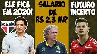 Raí fica no SPFC! Bruno Guimarães no Fla ou na Europa? JJ tem mesmo oferta milionária?