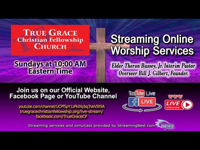 07-11-2021 -  Pastoral Installation of Elder Theron Bussey, Jr.