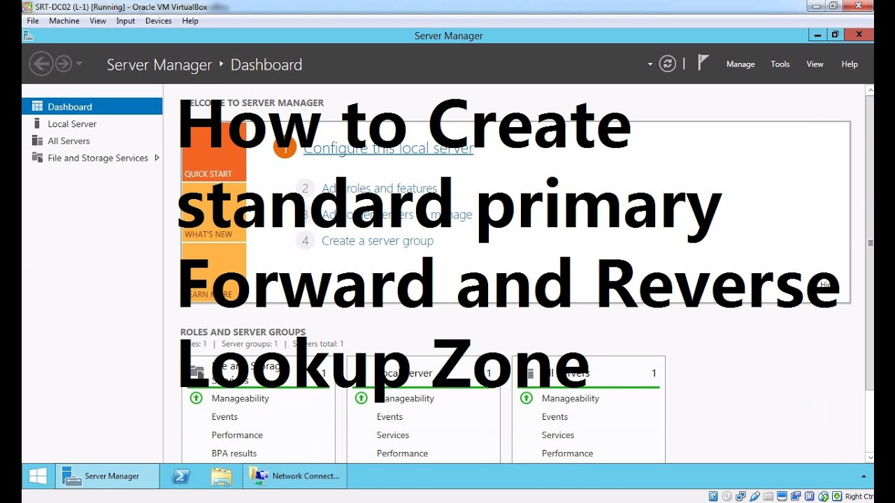 6  How to Create Primary Forward and Reverse Lookup Zone in Windows Server  2012 R2